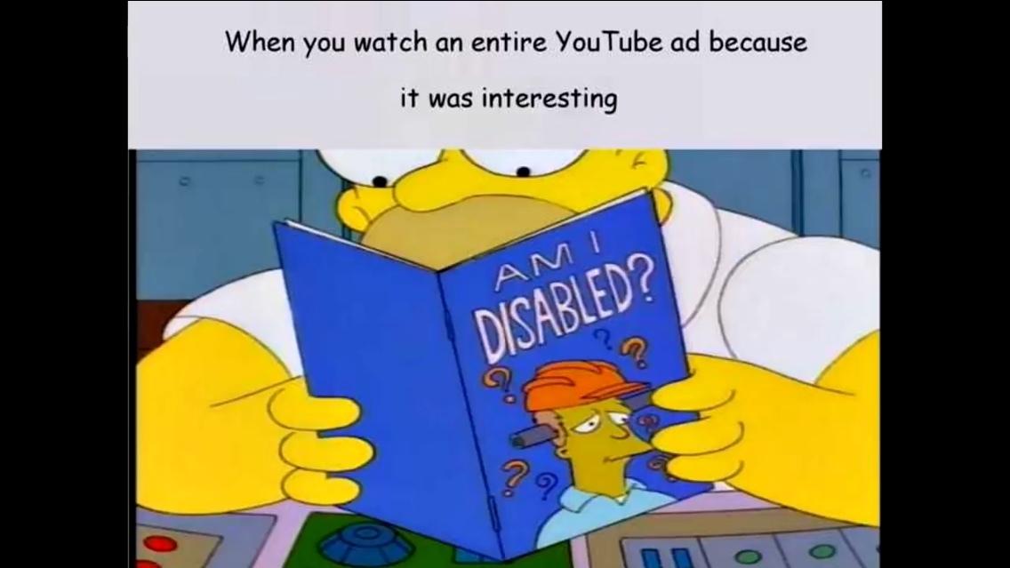 Am I Disabled? - meme