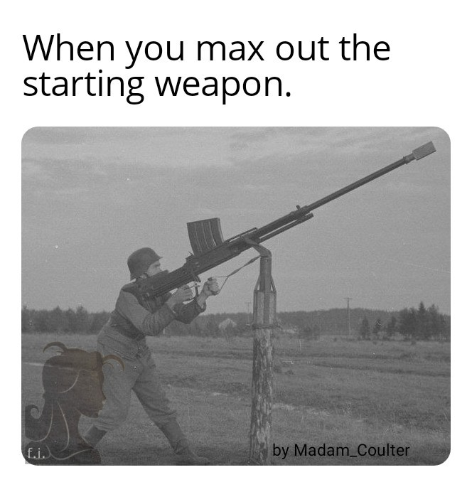Anti tank rifle - meme