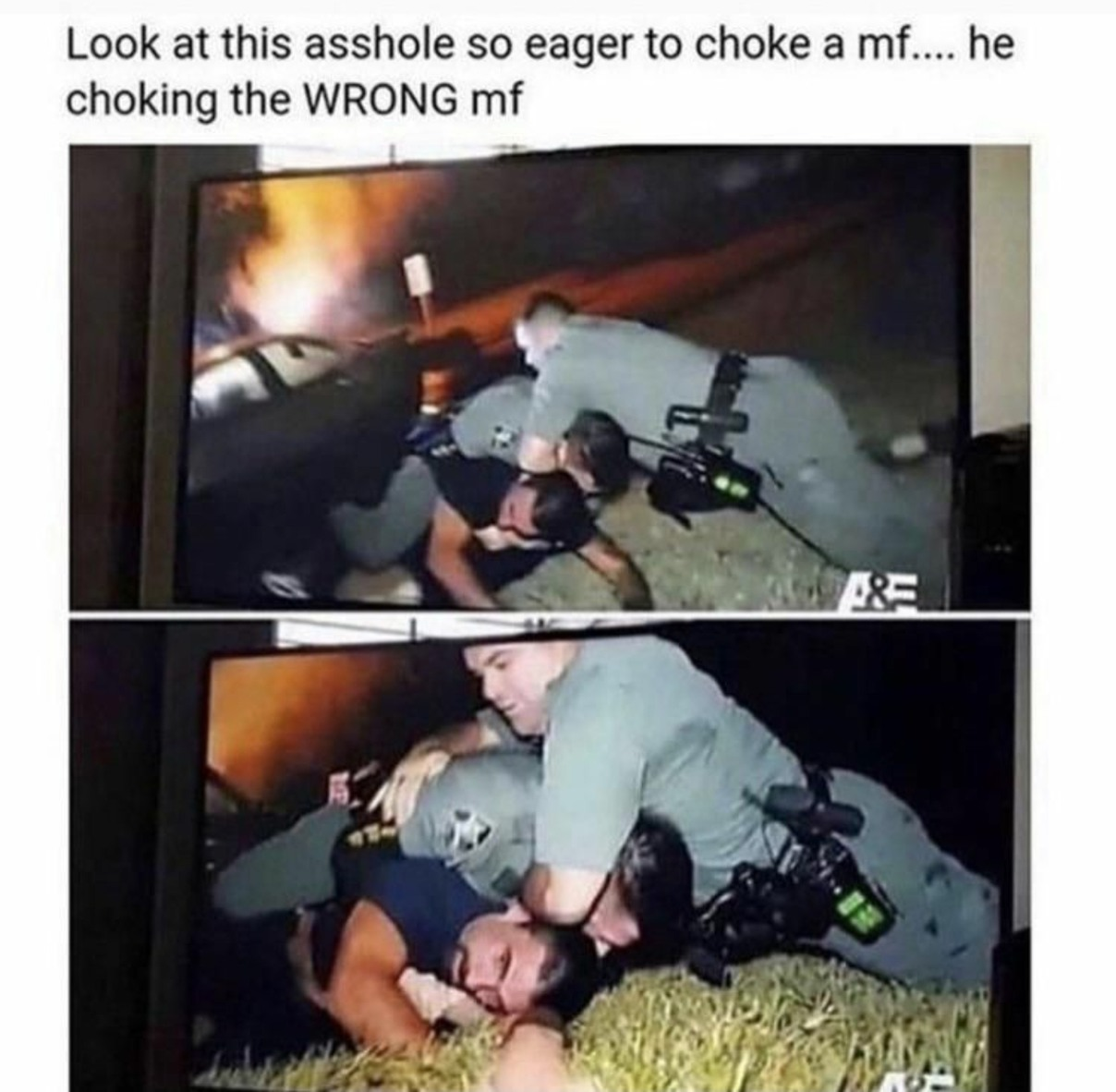 Defund the police - meme