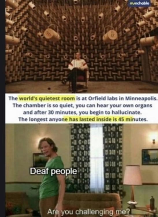 deaf people - meme