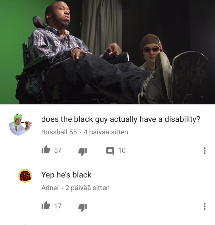Pimp my wheelchair - meme