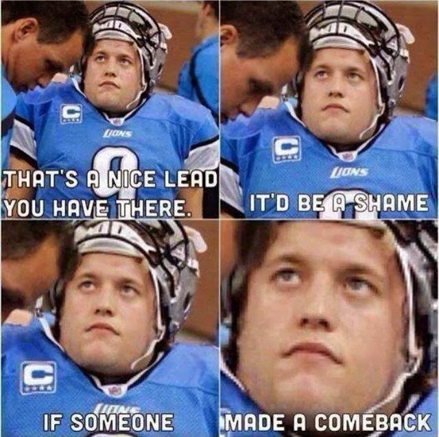 Go lions! - meme