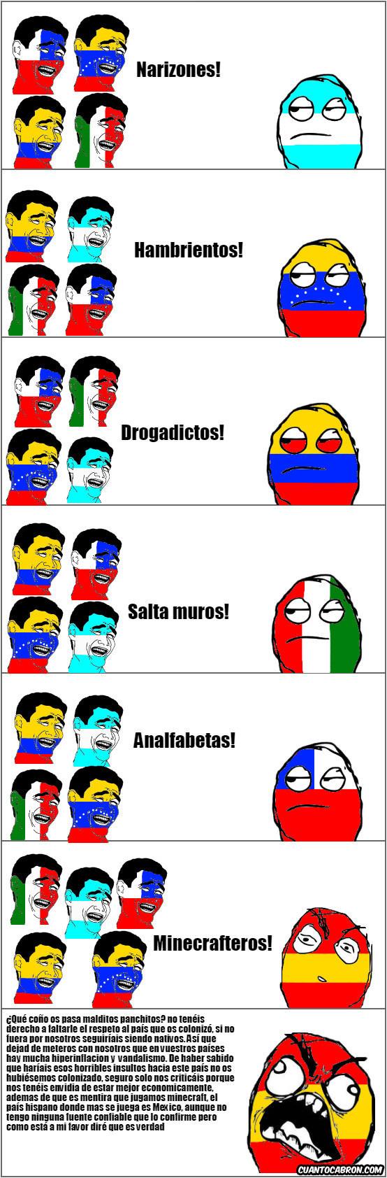 Españoles, se toman cualquier burla a pecho y lo expresan con autismo - meme