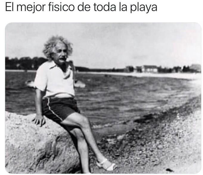 El título de fue a la playa - meme