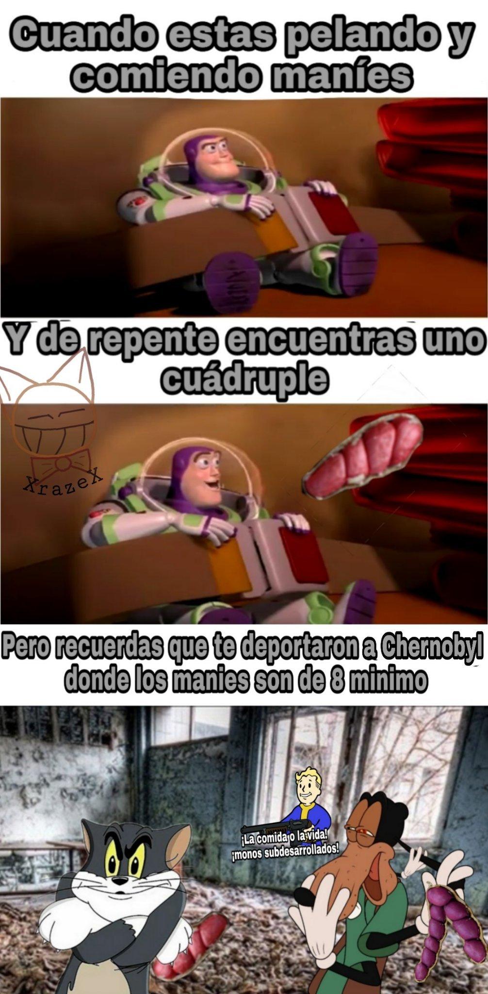Maníes manises manís - meme