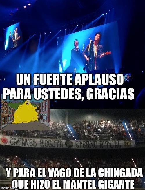 Que concierto tan hermoso - meme