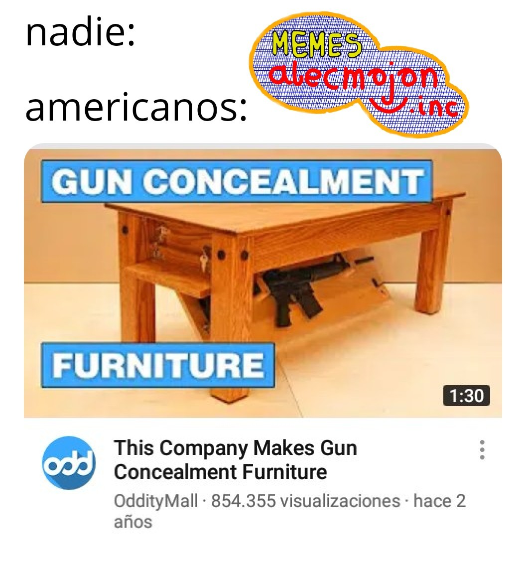 América, hogar de los tiroteos escolares - meme