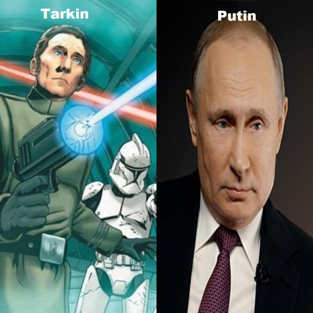 Grand Moff Putin - meme