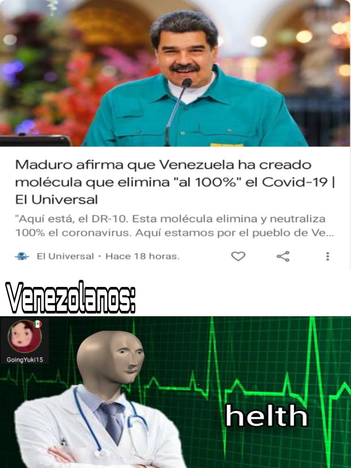 El título se fue a Venezuela - meme