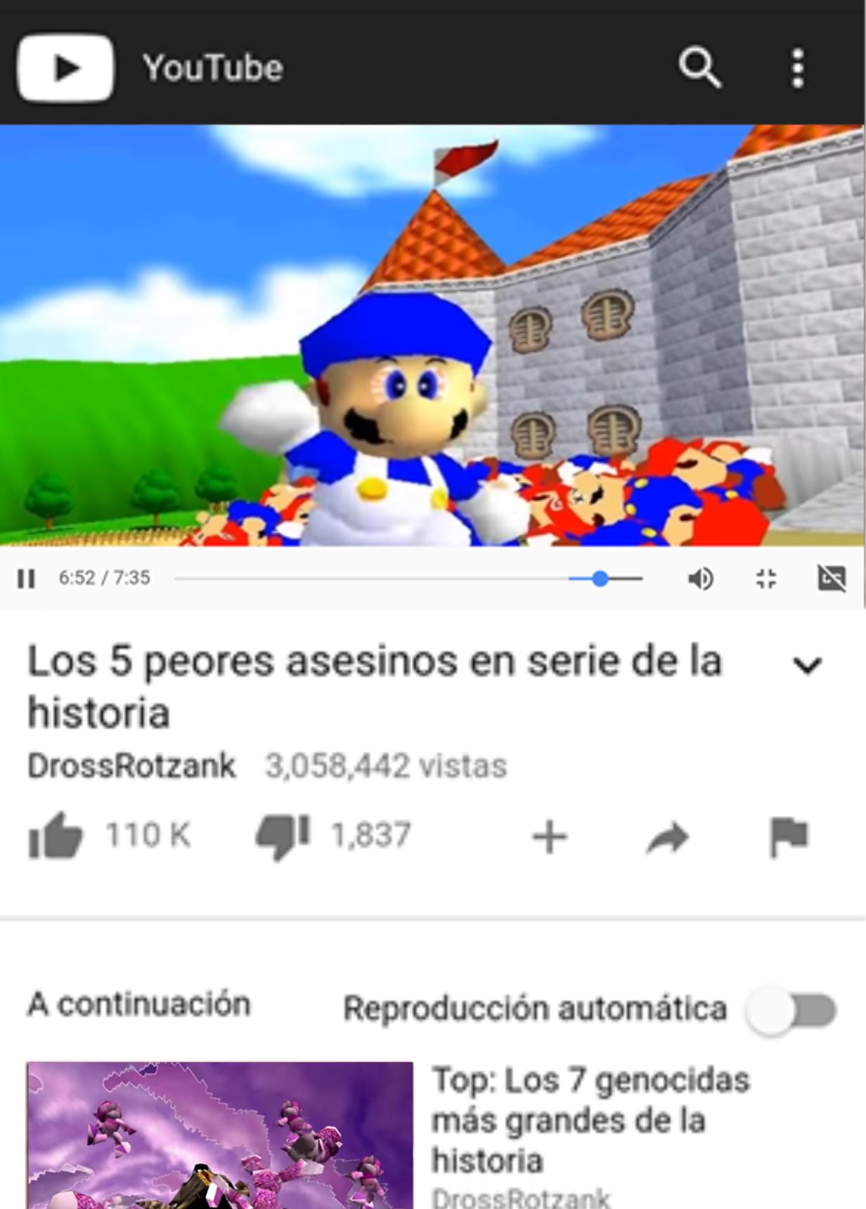 SMG4 mató a 101 Marios - meme