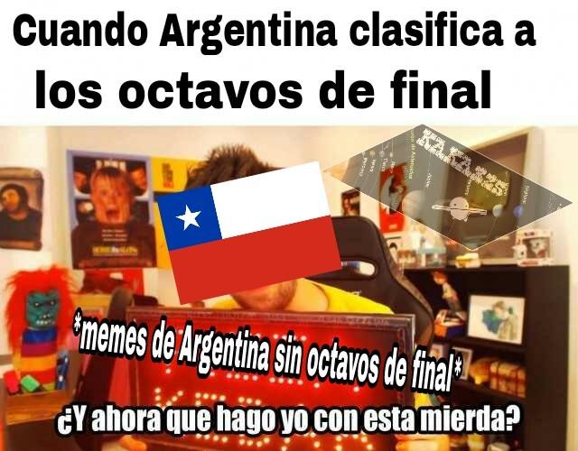 La mayoria de ese tipo de memes son de chilenos