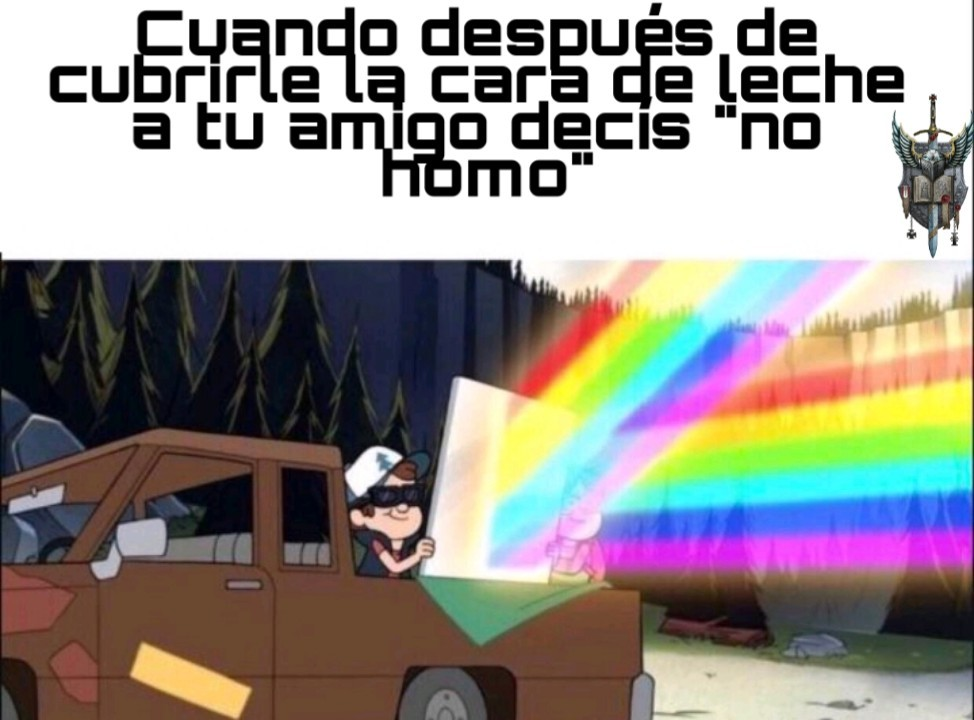 Pray the gay away - meme