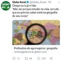 Cantadas Globo rural