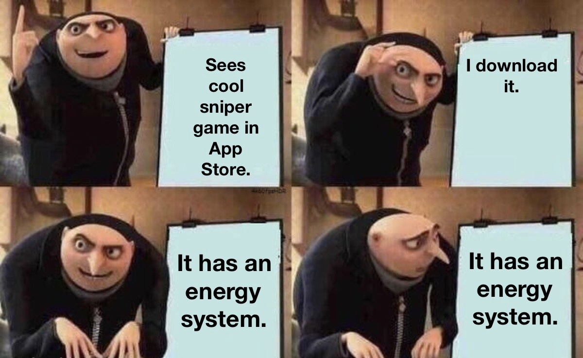 Energy systems are trash - meme