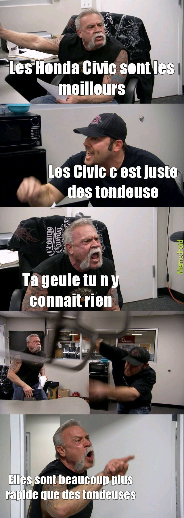 Honda - meme