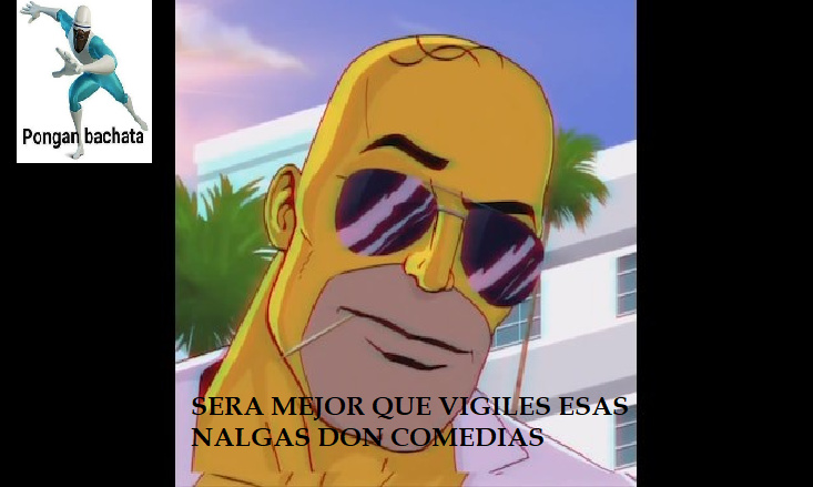 Homero cazador de don comedias (re kpo) - meme