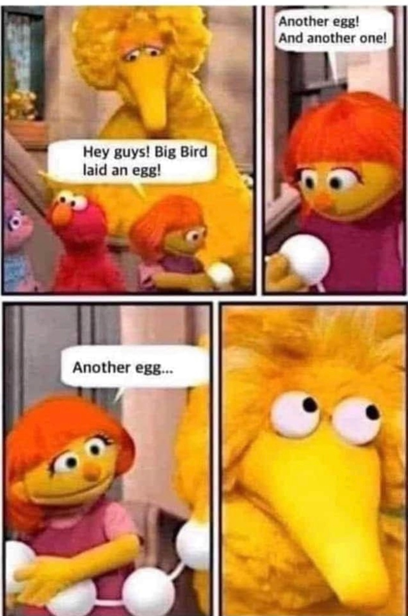 big bird - meme