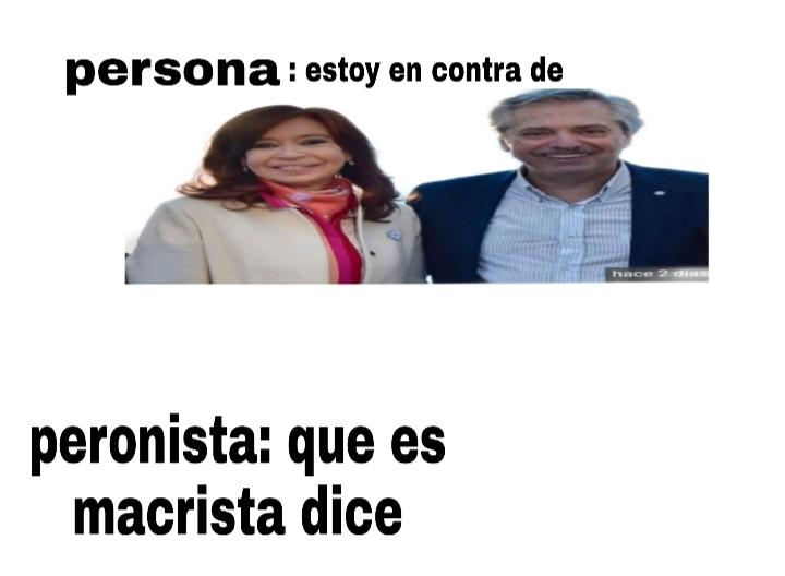 B0lVimoz dijo el peroncho - meme