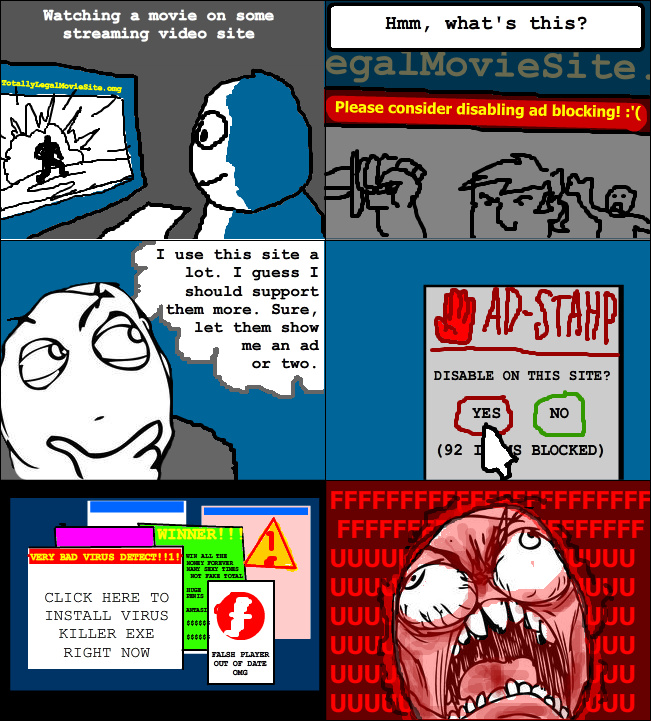 Adblock is life - meme