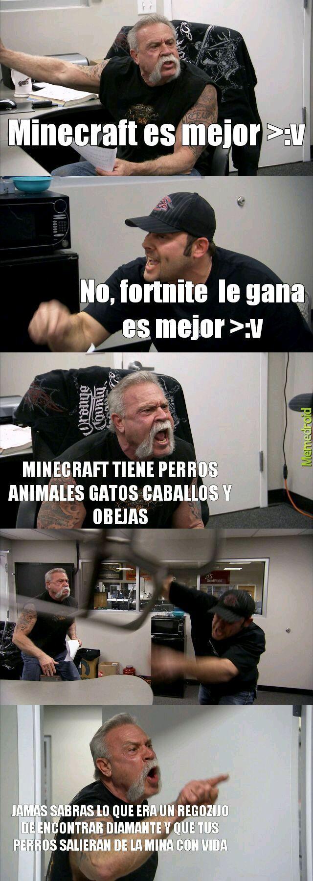 Jueguen maincraft - meme