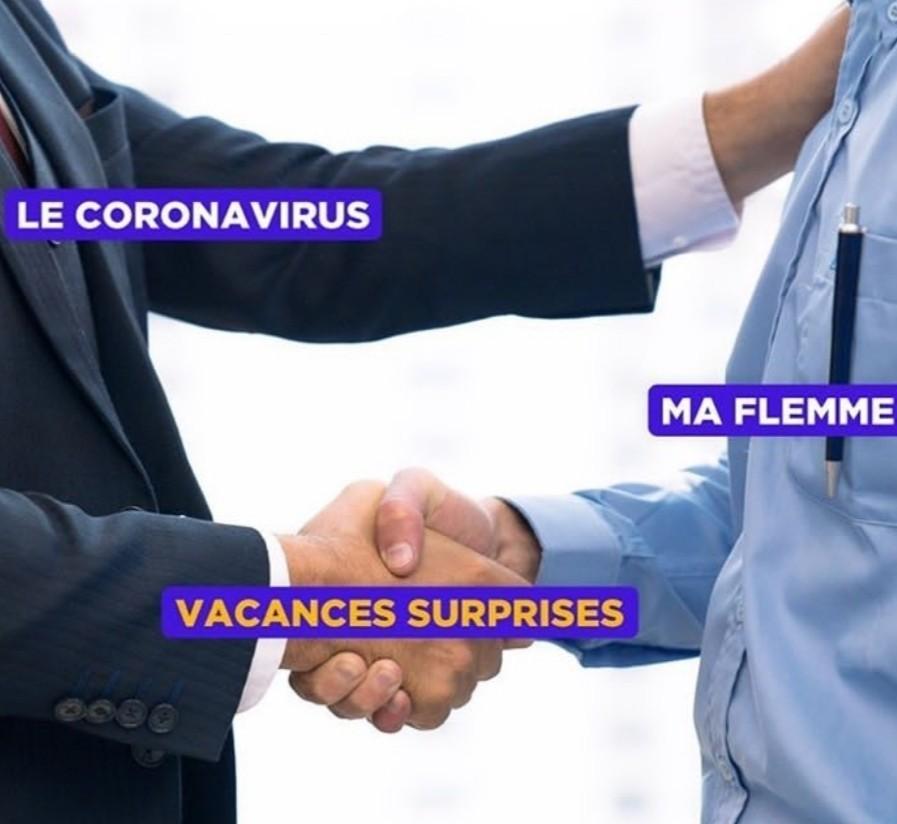 Vacances surprise - meme