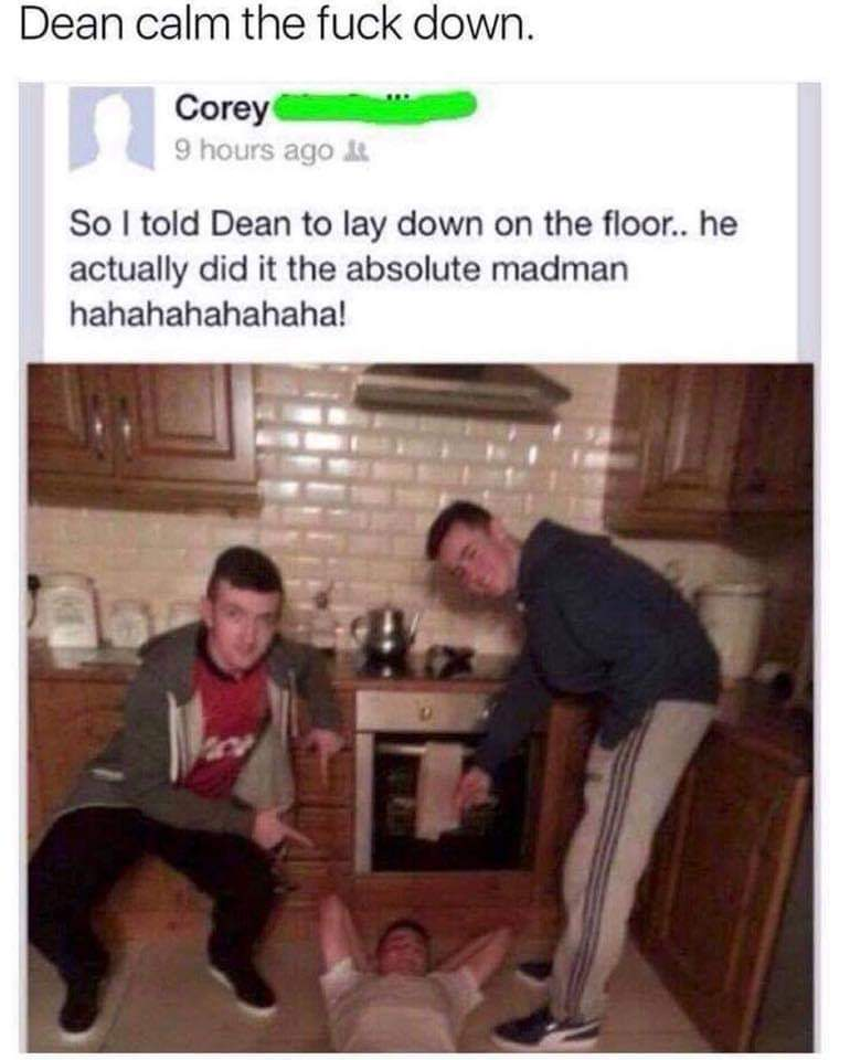 Absolute madman - meme