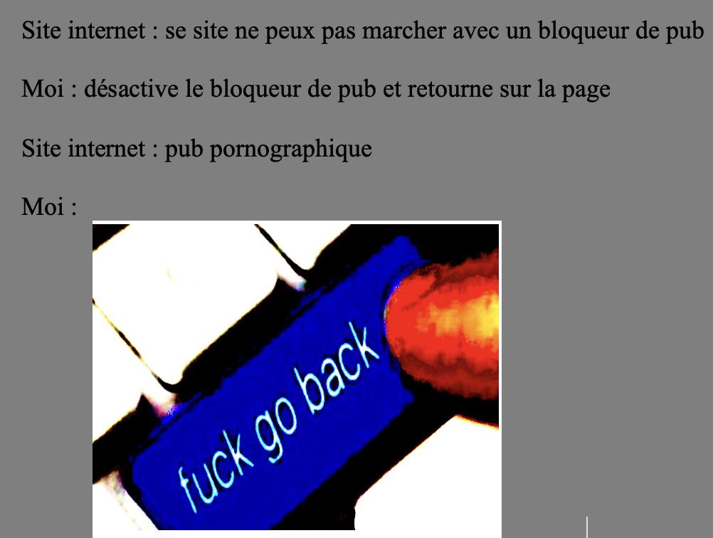 ahhh les sites internet - meme
