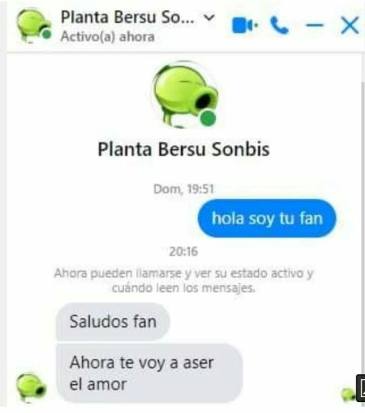 Plantas bersu sombis - meme