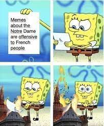 Notre damn bro - meme