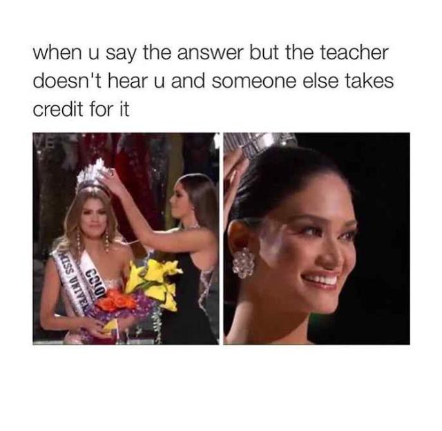 miss universe 2015 - meme