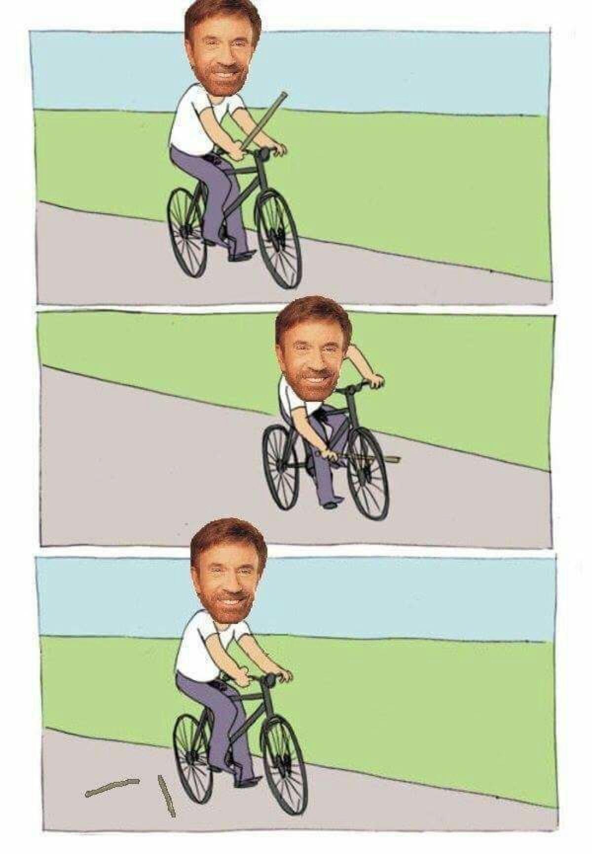 sirroN kcuhC - meme
