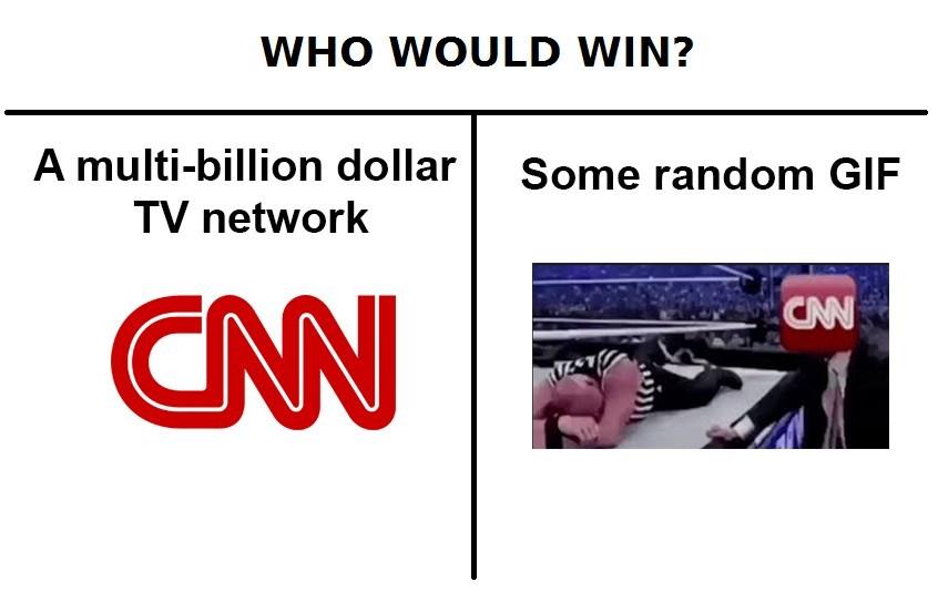 Cnn messed up - meme