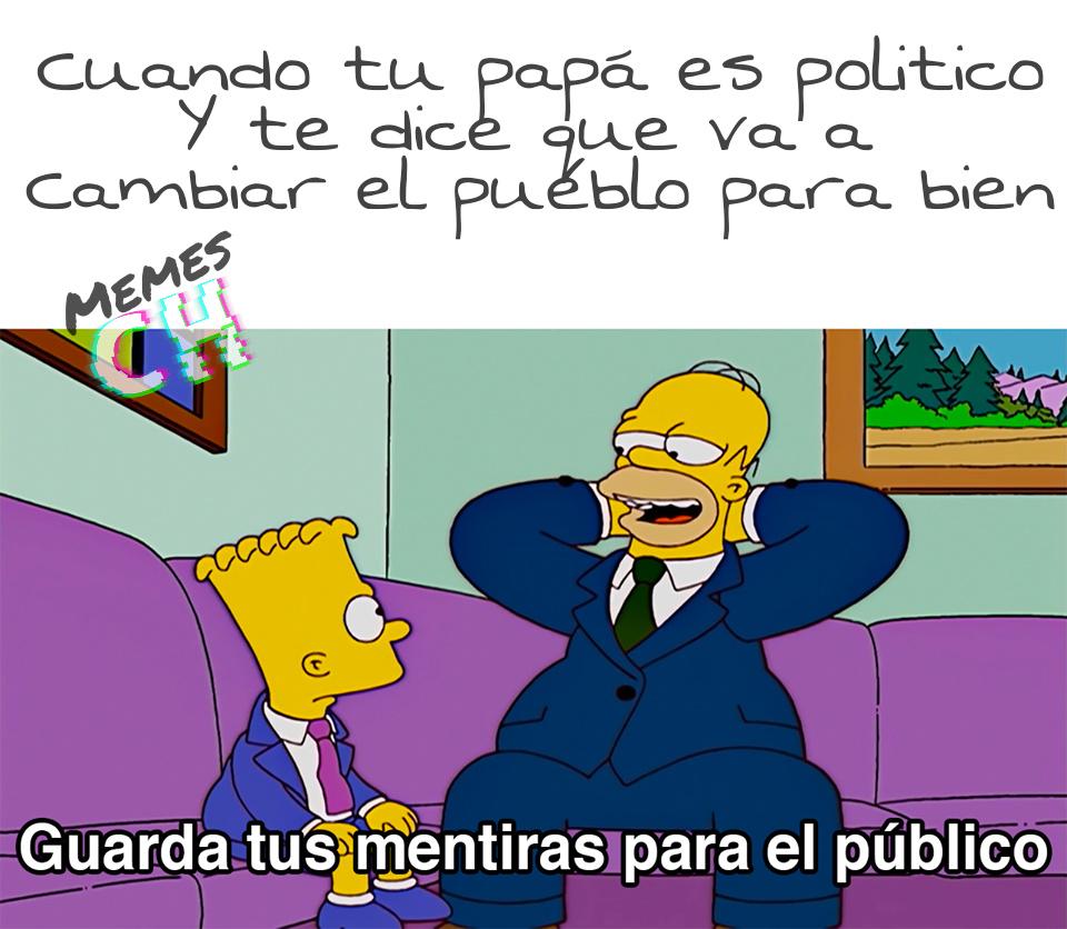 Políticos... - meme