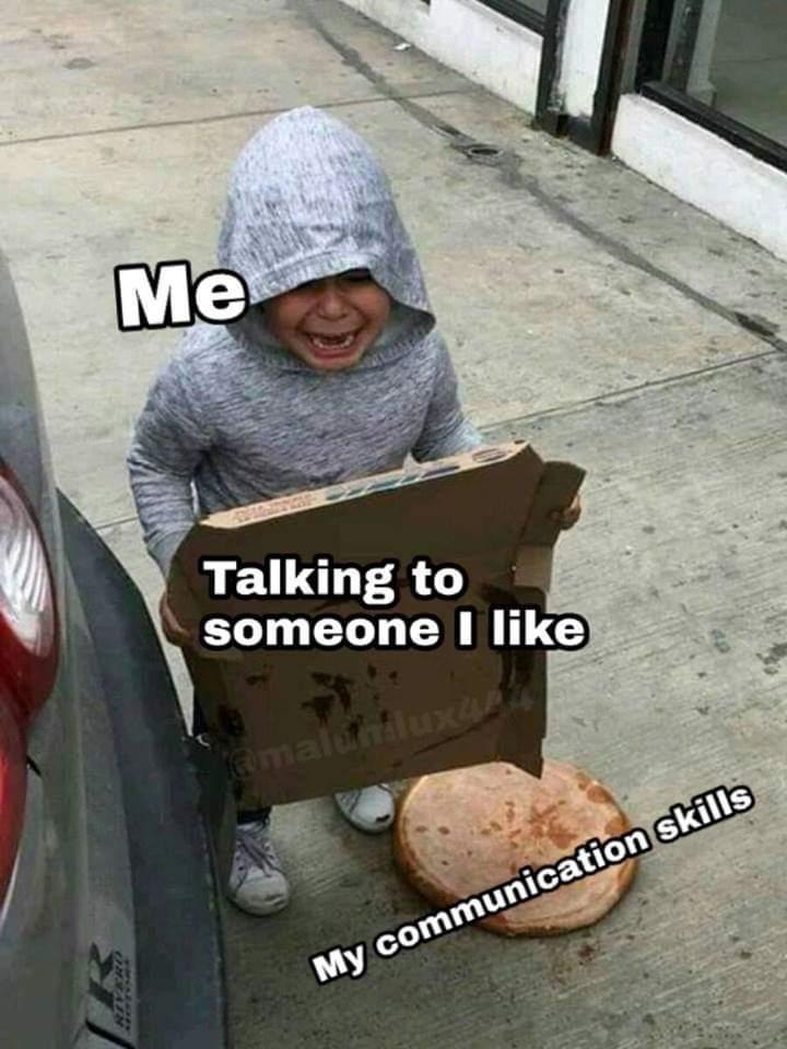 Communication skills - meme