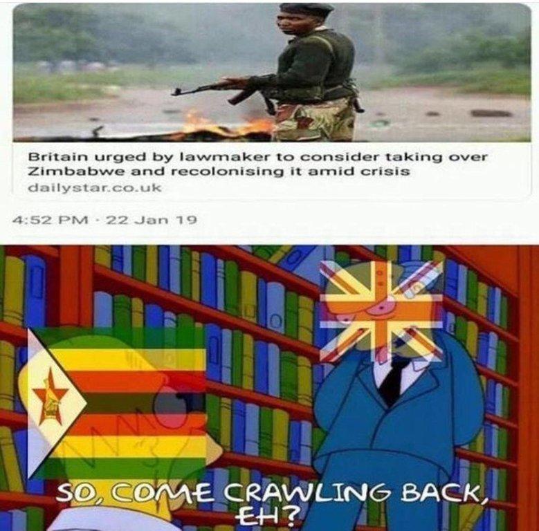 Restore the colonies - meme