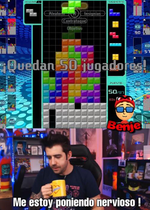 Tetris battle royale - meme