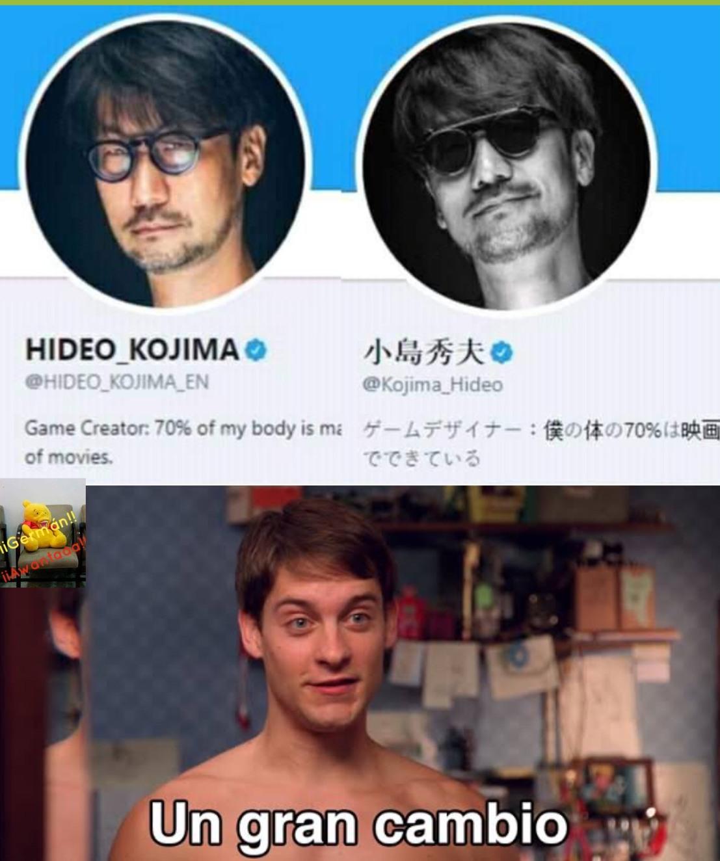 Un gran cambio - meme