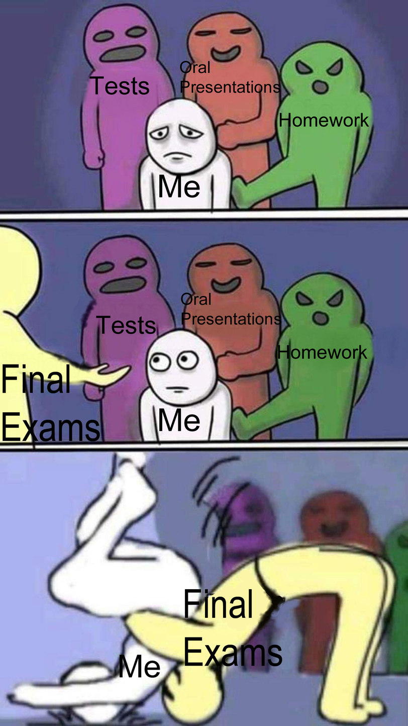 School and dead memes