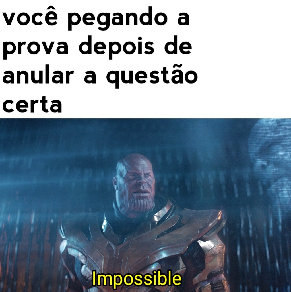 Impossible - meme