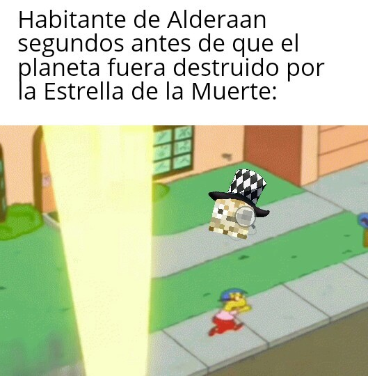 Corre Milhouse! - meme