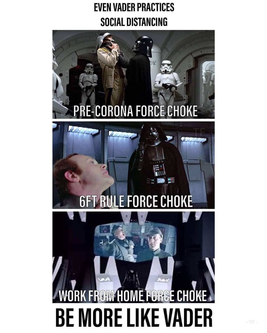 Vader is a true inspiration - meme