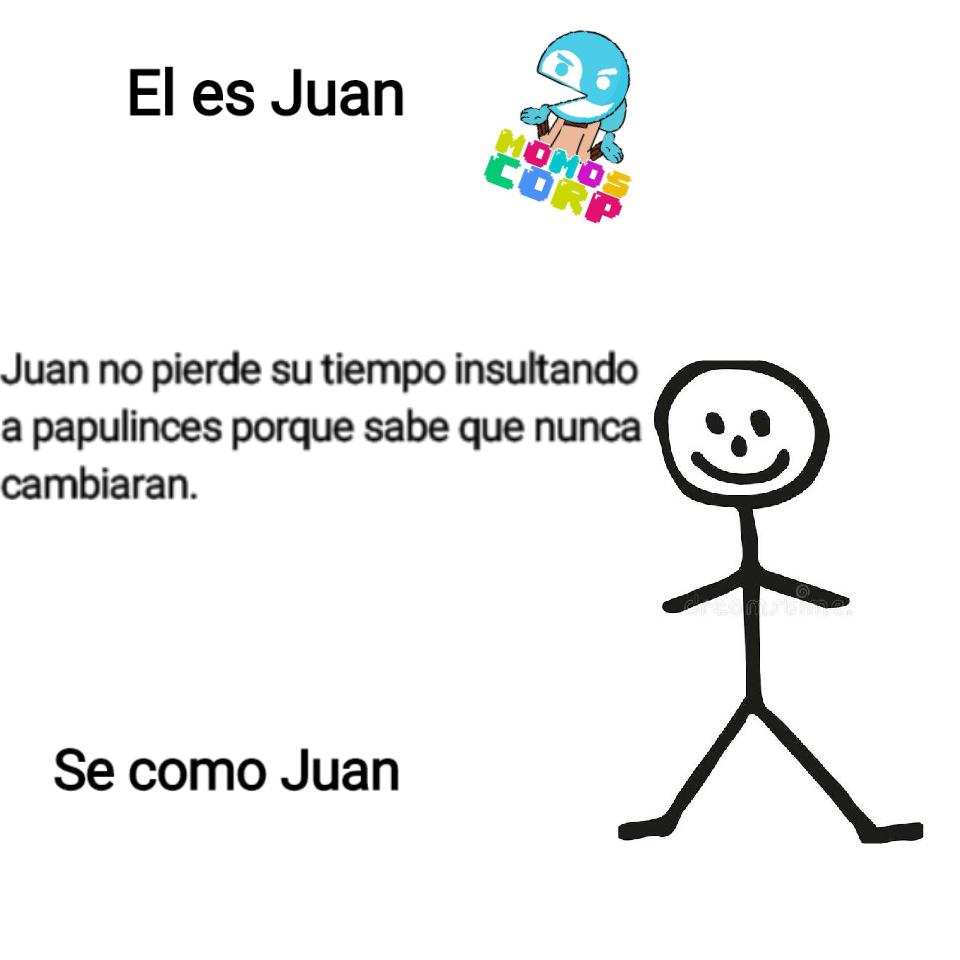 Se como Juan - meme