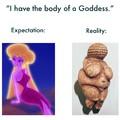Body of a Goddess