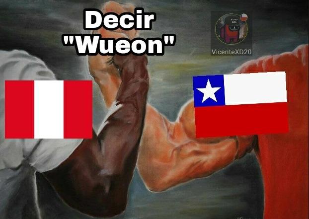 Chile y peru - meme