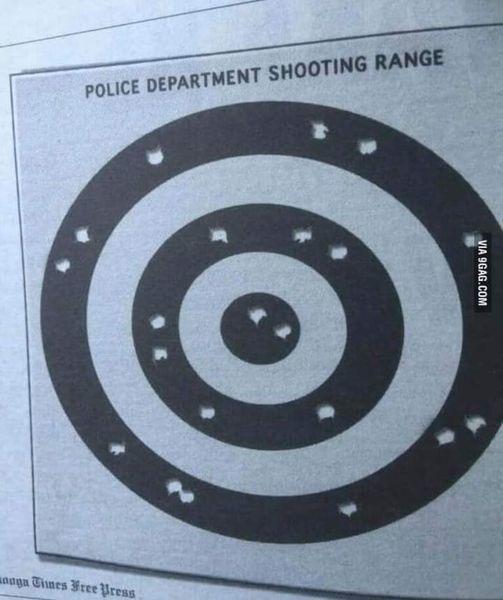Adivinen de que país es esta práctica de tiros - meme