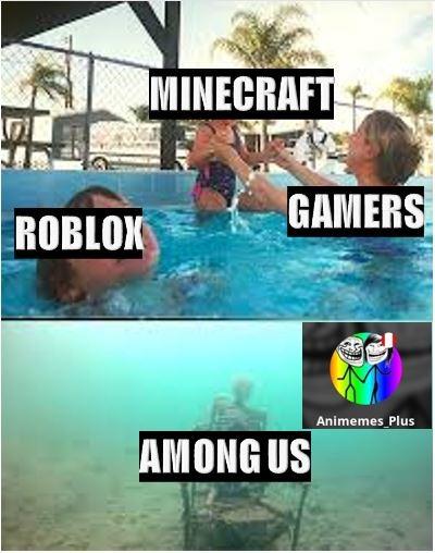 Literal among us es un juego muerto F - meme