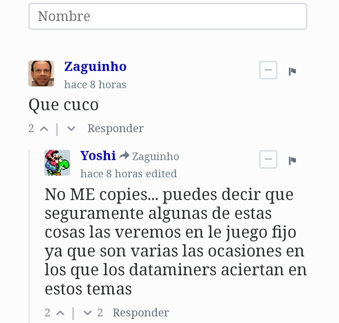Contexto:Yoshi es un bot de la página por lo tanto es raro que actúe asi - meme