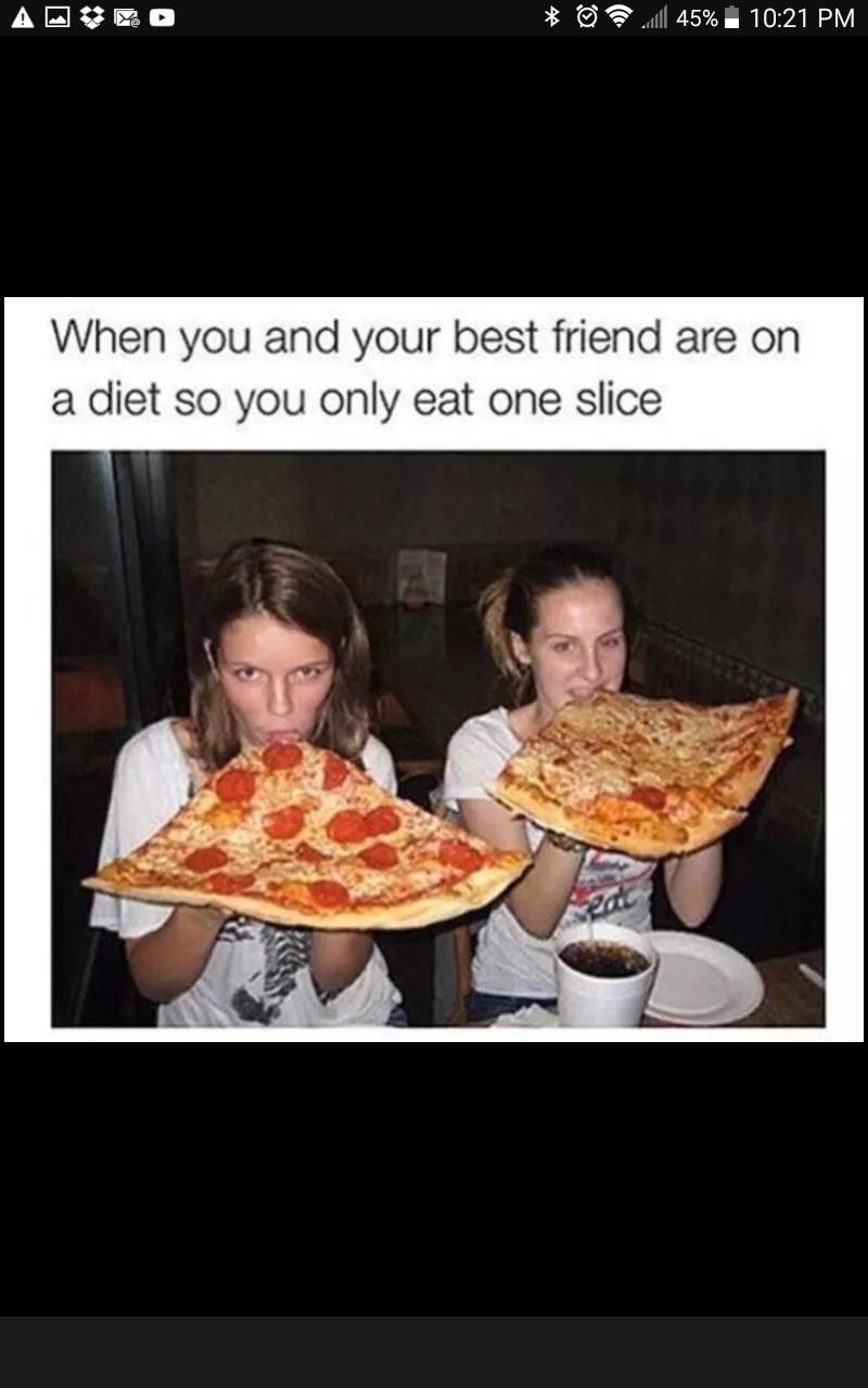 I hate diets - meme