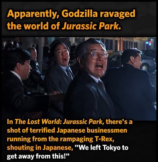 Go go Godzilla - meme
