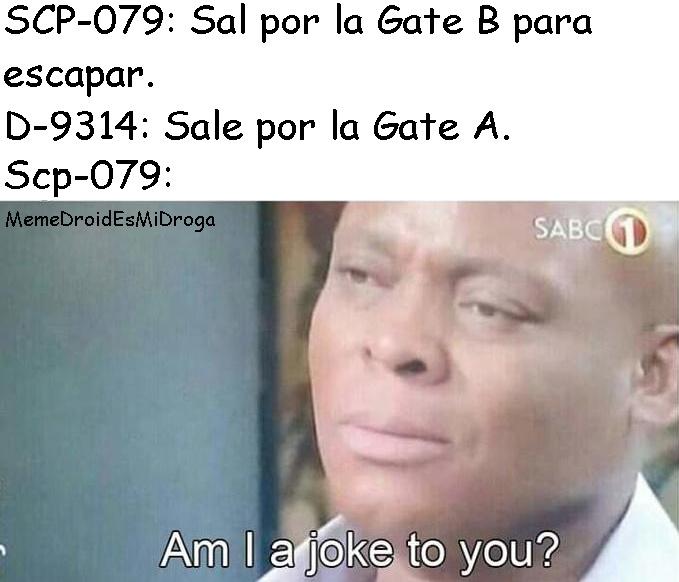 Conseguí un final de Gate A donde SCP-106 escapa. - meme